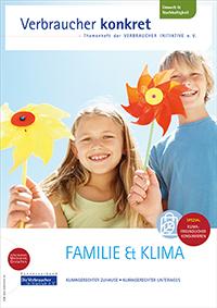 Flyer Familie & Klima