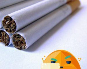 Zigaretten in Nahaufnahme