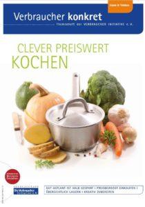 die Broschüre Clever preiswert kochen