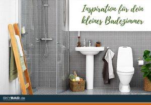 ein Beispielbad mit Dusche, Waschbecken und WC