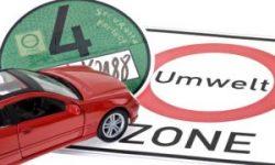 Plaketten für Umweltzone - Feinstaubplaketten