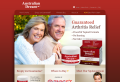 Arthritis pain relief application for sufferers