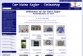 Der kleine Segler - Onlineshop