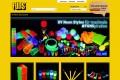 Die Partyeinkaufswelt für Neonprodukte