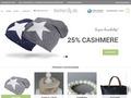 feinherzig- Kaschmir Mützen mit Stern Beanies Tücher Loops Ibiza Korbtaschen