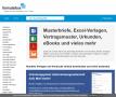 formularbox - Formulare, Homepage-Vorlagen, Mustervorlagen