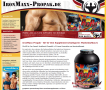 IronMaxx Propak All-In-One Muskelaufbau Supplement!