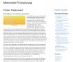 Motorroller Finanzierung - Dienstleistung