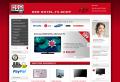 REDSAM - B2B-Webshop für Hotel-TV, System-TV und Klinik-TV, Minibars