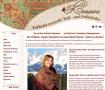 Russische Volkskunst auf modischen Tüchern