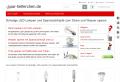 Spar-Helferchen - Strom und Wasser sparen mit LED und Sparduschkopf