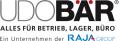 UDO BÄR - Betriebsausstattung, Lagerbedarf, Transportsysteme, Sicherheitsausstattung, Büroeinrichtung